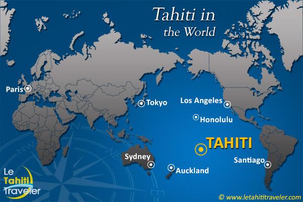 Où Est La Polynésie Le Tahiti Traveler