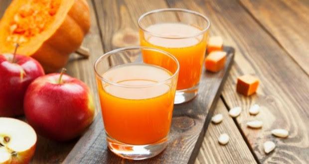 suco detox com laranja