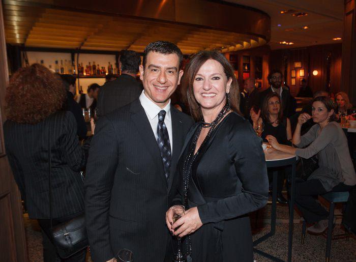 (Αριστερά) Ρούλα Σαλούτση. Επικεφαλής Δημοσίων Σχέσεων Aegean Air