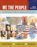 We the People: An Introduction to American Politics
