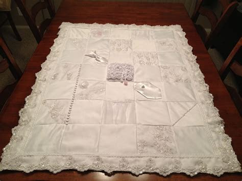Quilt made from my wedding dress   Home   Wedding dress