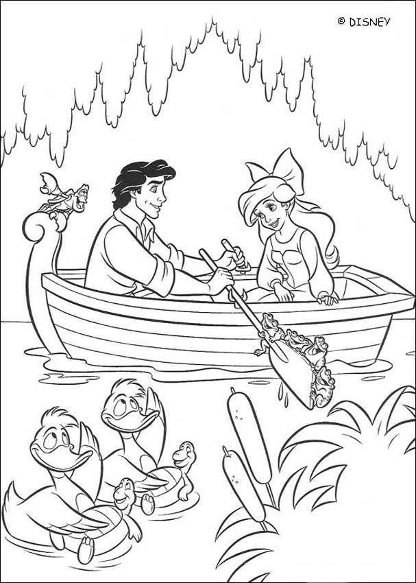 Dibujos La Sirenita Para Colorear 14 Imágenes De La Sirenita