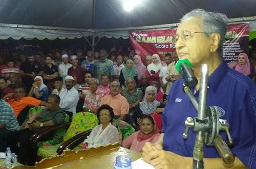 Skandal 1MDB: Tun M kata wakil rakyat BN hipokrit