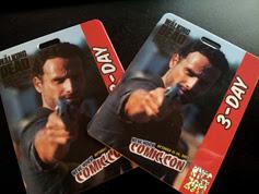 Comic Con Passes