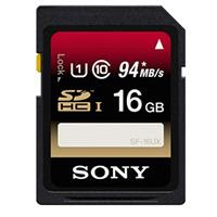Sony 16GB SDHC UHS-1 Memory Card, 94 Mb/s Read Speed, 45 Mb/s Write Speed