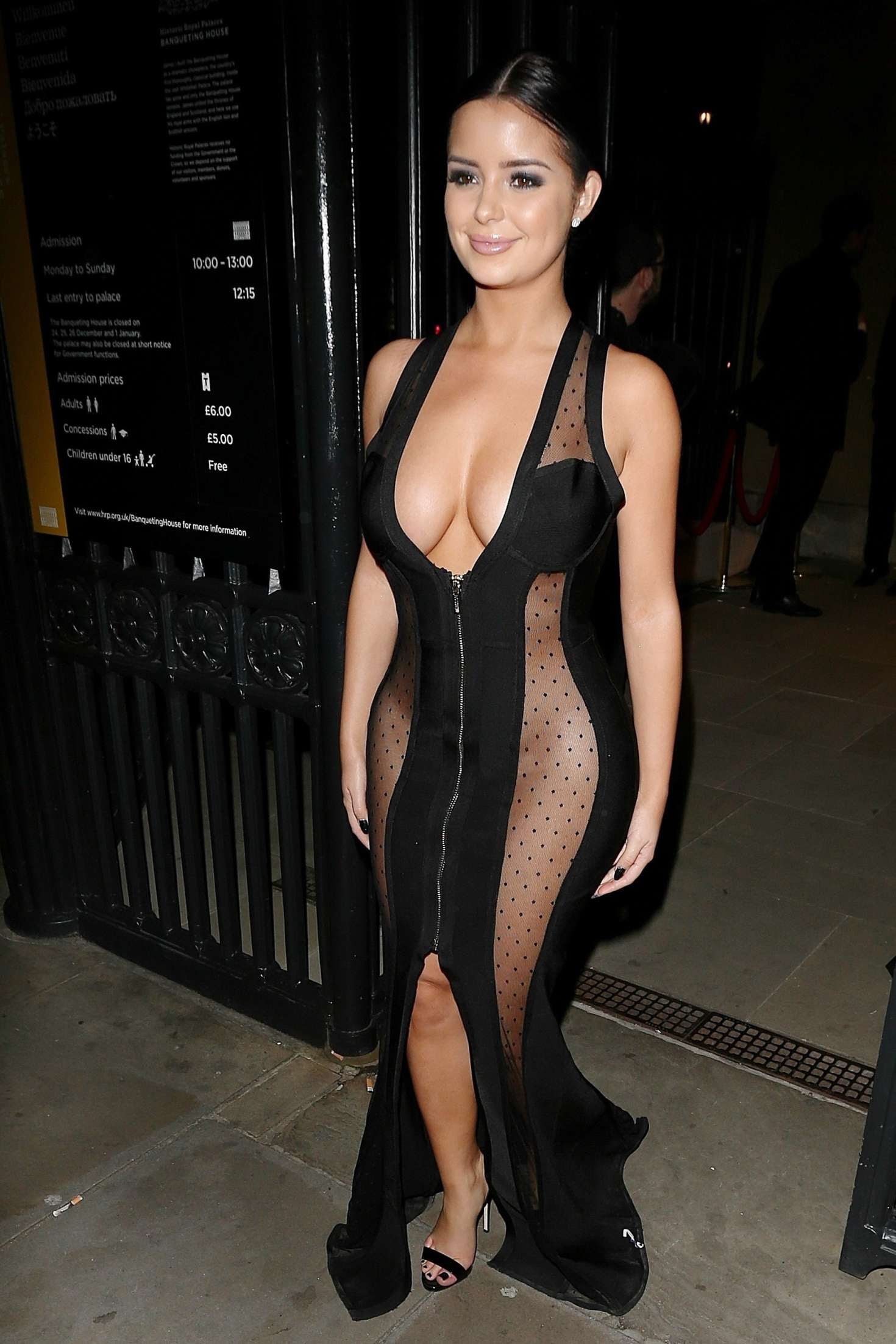 Demi Rose – Leaves Beauty Awards 2016 in London