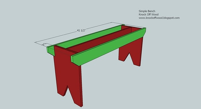 Ana White | Build a 5 Board Bench | Free and Easy DIY Project and ...