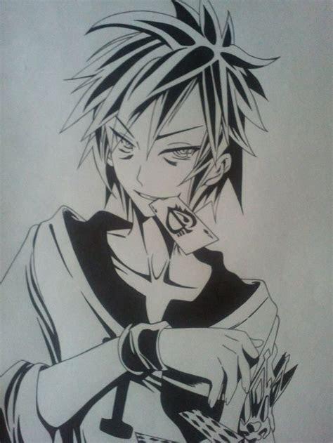 sora  game  life ink drawing  sagedemijan anime