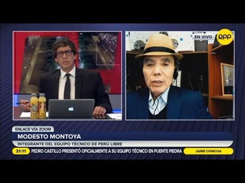 """Modesto Montoya: """"Venezuela y Perú tienen el mismo modelo primario expor..."""