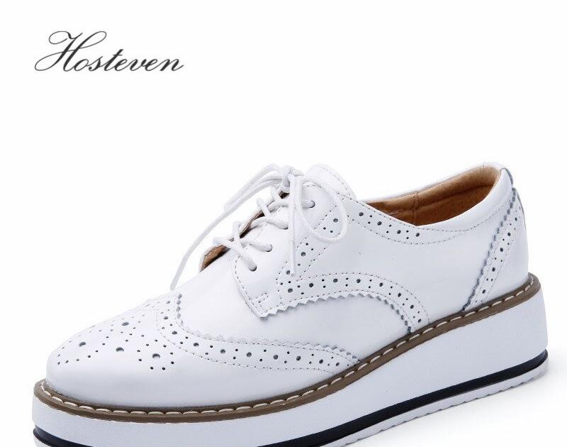 605047e9 Comprar Zapatos De Mujer Hosteven Mocasines Casuales Cuero Genuino Planos  Madre Online Baratos ~ randisae