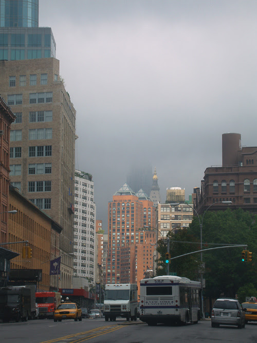 Empire State Building hidden