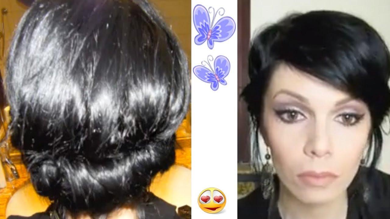 Tuto Coiffure Cheveux Court Youtube Coiffure Chignon Classe