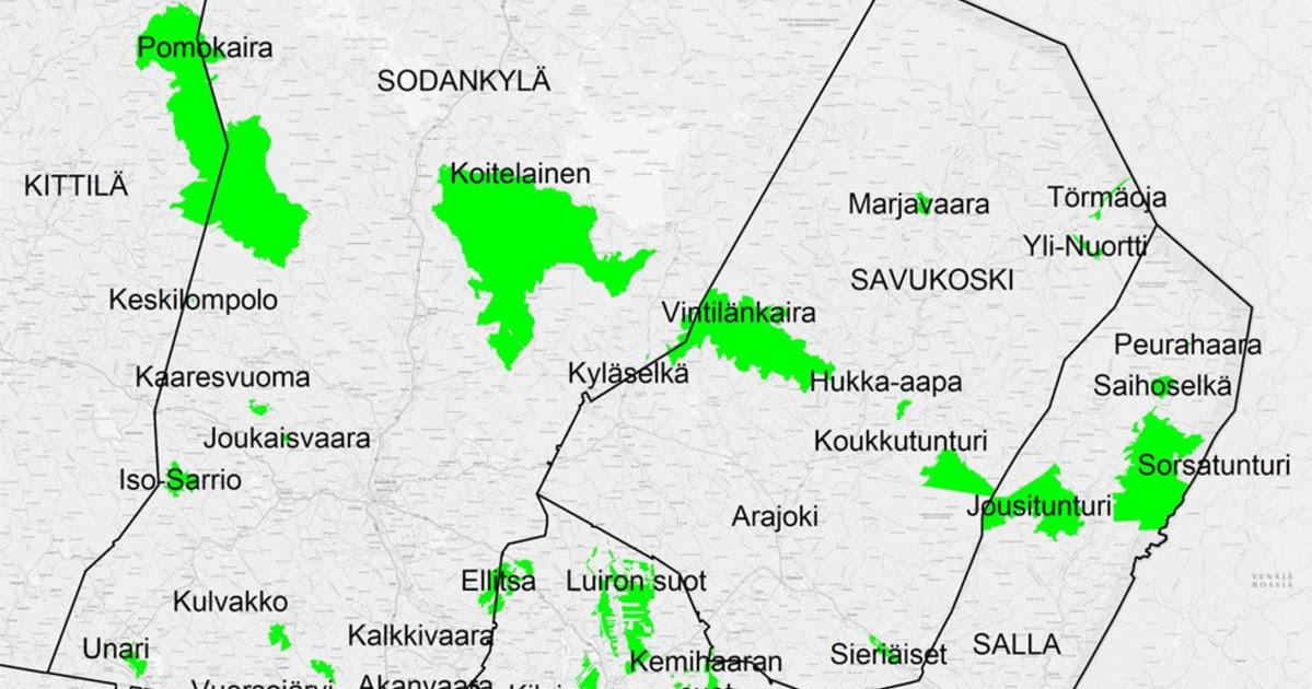 Luonnonsuojelualueet Suomessa