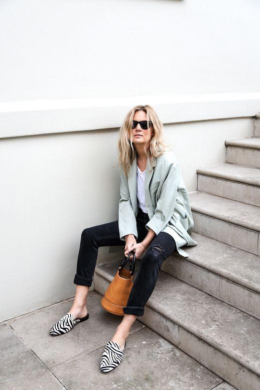 Le Fashion Blog Lucy Williams Blazer White Shirt Distressed Jeans Zebra Loafers Via Fashion Me Now photo Le-Fashion-Blog-Lucy-Williams-Blazer-White-Shirt-Distressed-Jeans-Zebra-Loafers-Via-Fashion-Me-Now.jpg