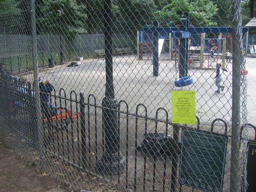 Third Street Playground Fence