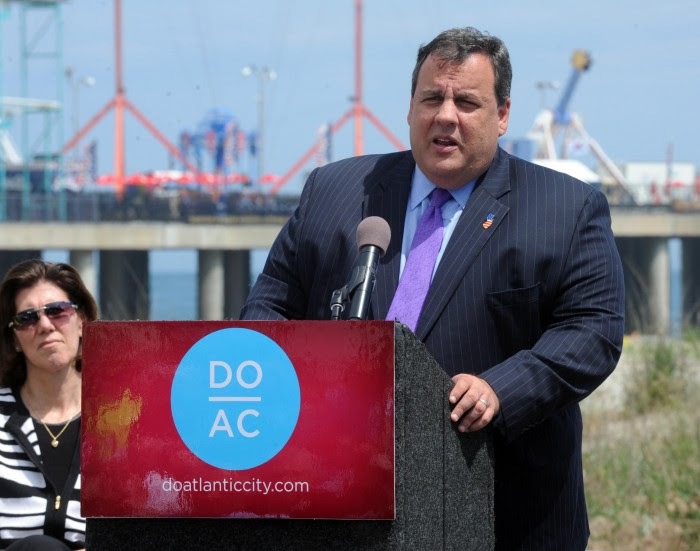 Christie in Atlantic City