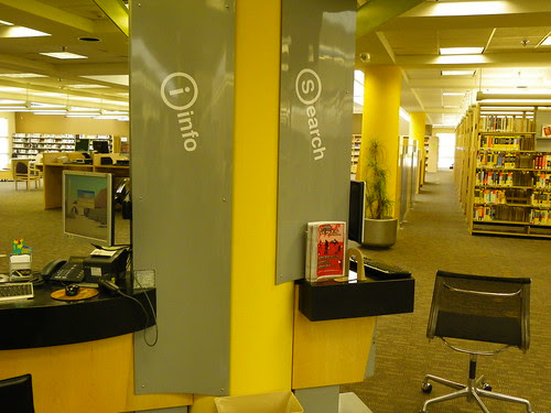 Search / Information space - Mustang Library, Arizona