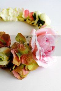 diy floral crown tutorial, craft, uk, blogger