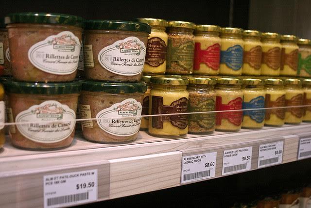 Rillettes de Canard and Specialty Mustards