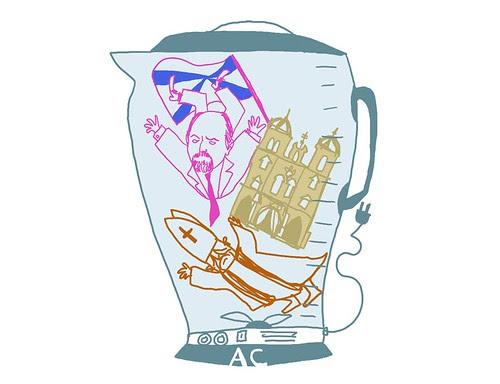 Blogue Avenida Central - Ilustração de Pedro Vieira
