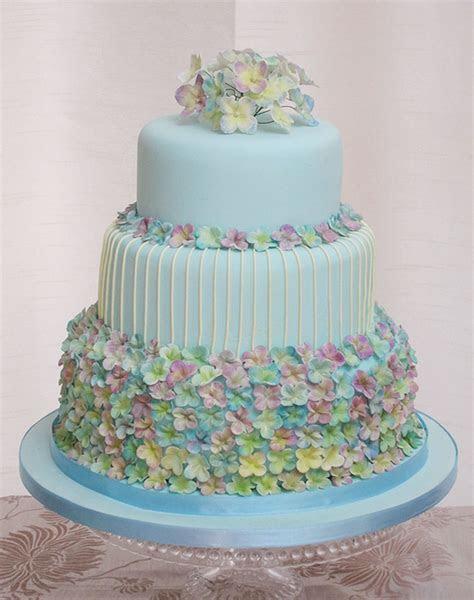 Hydrangea Wedding Cake Ideas Wedding Cake   Cake Ideas by