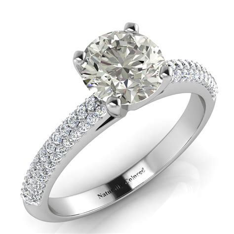 Guide to Gray Diamond Rings   Naturally Colored