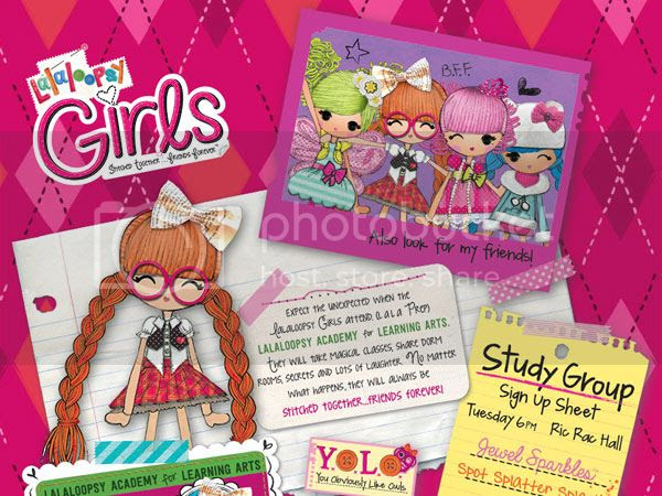SOON: Lalaloopsy Girls: Stitched Together, Friends Forever!