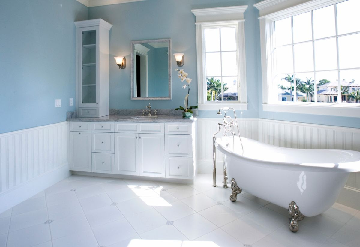 Choosing the Right Bathroom Color Scheme To Show Your ...