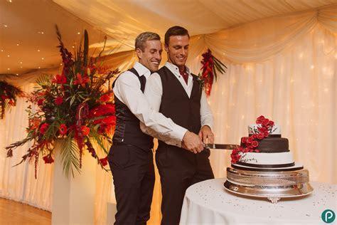 Gay weddings   Parley Manor Dorset   Alan Tony Part 2
