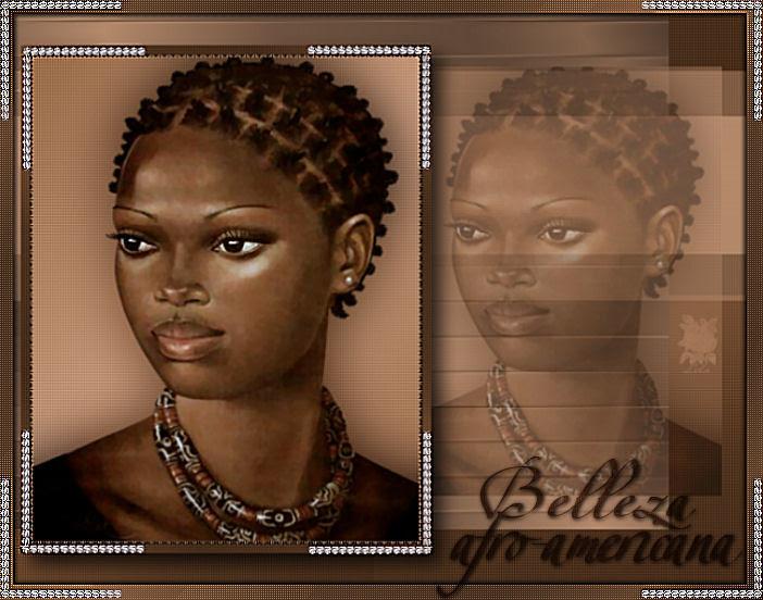 Belleza afro-americana