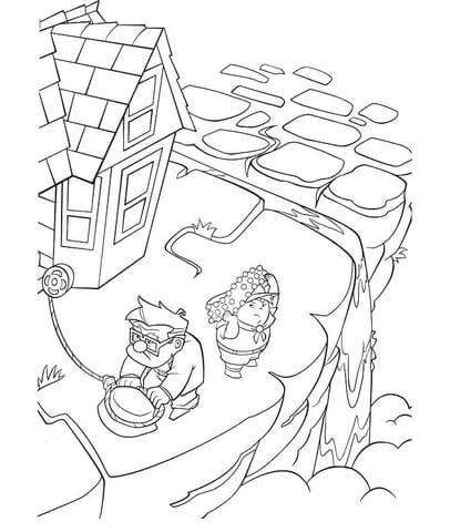 Dibujo De De Vuelta A Casa Para Colorear Dibujos Para Colorear