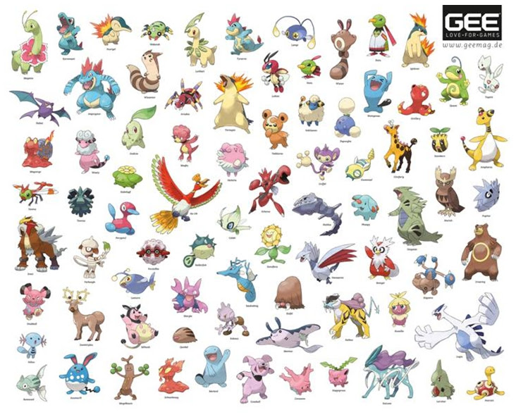 Pokemon Facile A Dessiner En Couleur