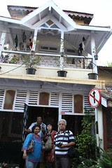 Photo Walkers at Clarence Gomes Quintessential 100 Year Old Villa by firoze shakir photographerno1