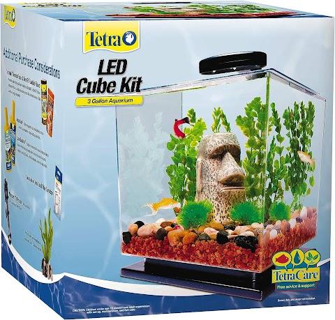 Tetra Cube Aquarium Kit 3 Gallon Review