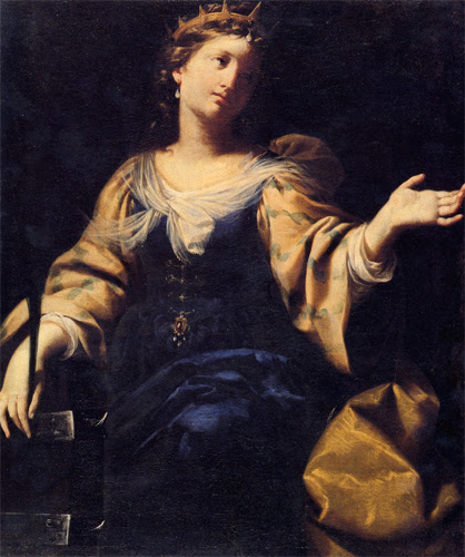 Santa Catalina de Alejandría, Pinacoteca Nacional de Bolonia.
