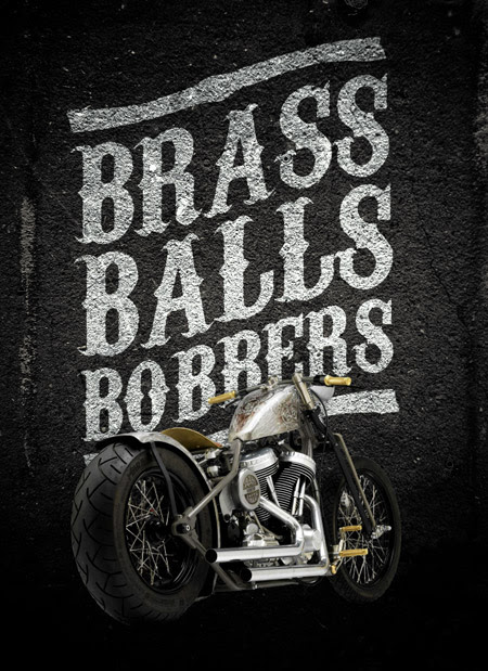 Create a Dark Vintage Style Motorcycle Poster Design