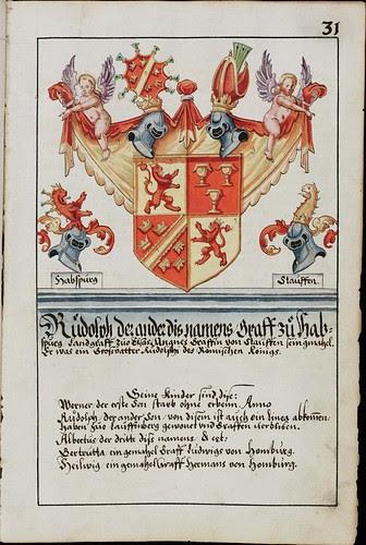 Wappenbuch des Hans Ulrich Fisch f