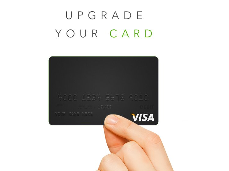 Clinkle debit card