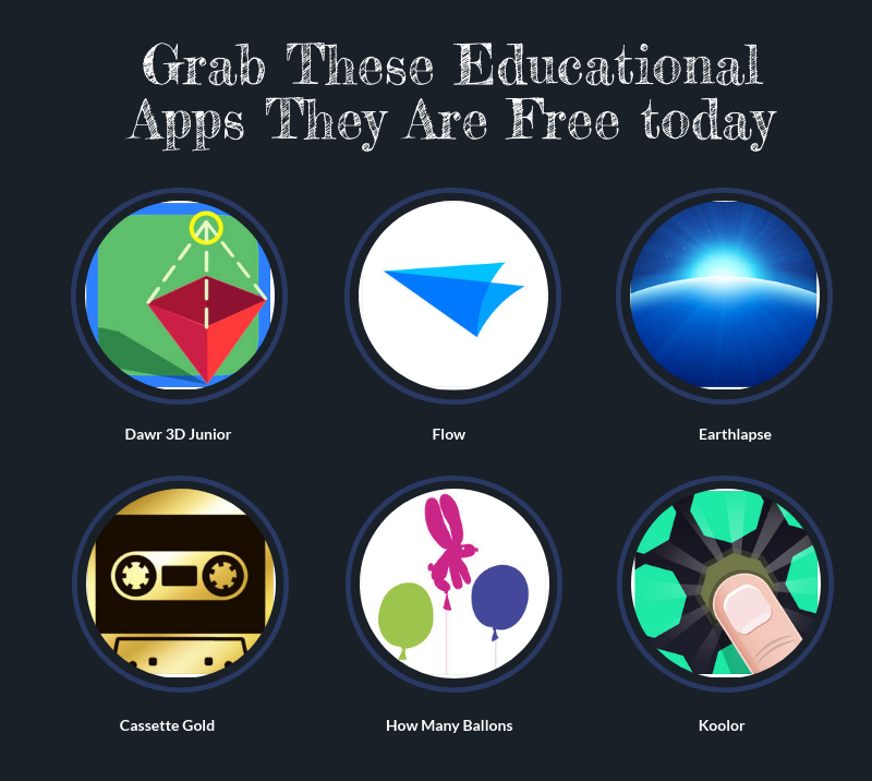 Grab These Educational Apps They Are Free today