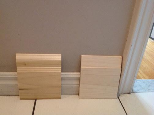 Help me choose a baseboard for my modern main floor renovation - Houzz