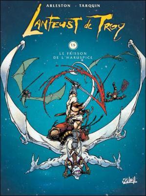 Couverture Lanfeust de Troy, tome 5 : Le frisson de l'Haruspice