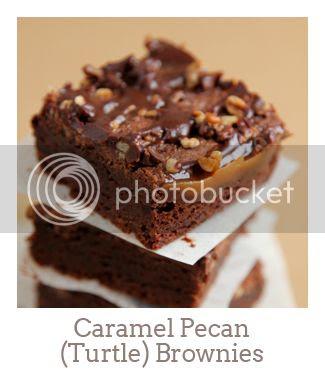 """Caramel Pecan (Turtle) Brownies"""
