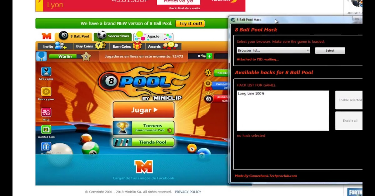 free coins for 8 ball pool without human verification