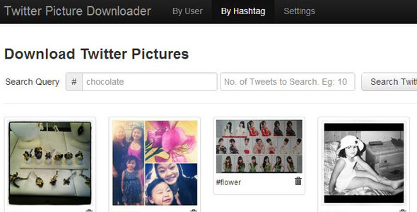Twitter Picture Downloader