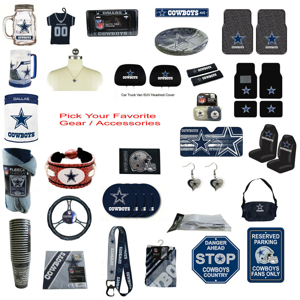 Brand New NFL Dallas Cowboys Pick Your Gear / Accessories Official Licensed eBay