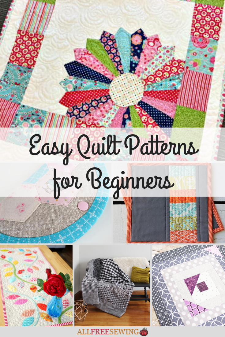 23+ Easy Quilt Patterns for Beginners  AllFreeSewing.com