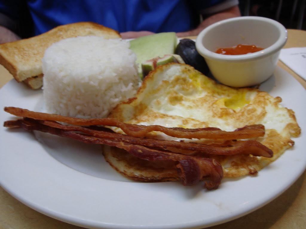 Applewood Smoked Bacon with Egg