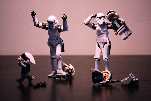 """""""Where are the frigging droids?"""""""
