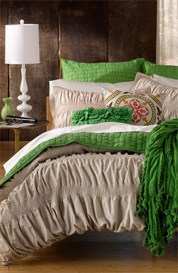 Cozy-up contours meet fresh-faced color. #Nordstrom at #Home Smocked Collection