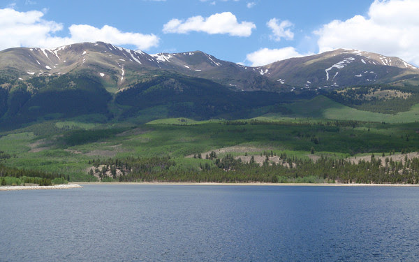 Mount Elbert and Mount Elbert Forebay